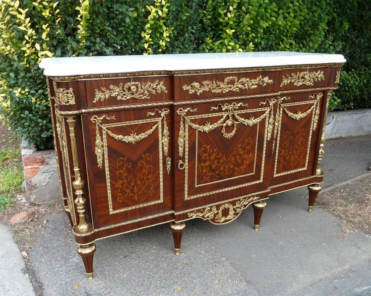 Decorative French Empire Buffet