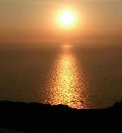 Have you seen your favorite sunset? Photo from taken at the chapel of Prophitis Ilias, highest point in #Patmos Island, 269 metres (883 ft) above sea level. Call it magic.  #patmosaktis