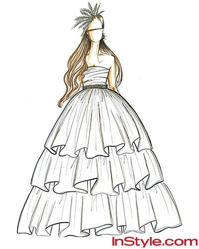 17 Best Images About Sketch A Dress On Pinterest