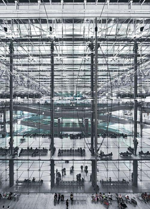 Suvarnabhumi International Airport in Bangkok Murphy/Jahn Architects WERNER SOBEK Engineering & Design