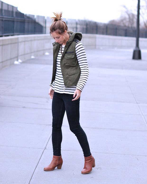 Advice on HOW TO WEAR THE TREND: CARGO VEST