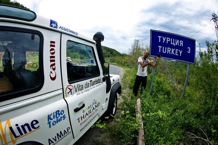 Tre chilometri alla Turchia