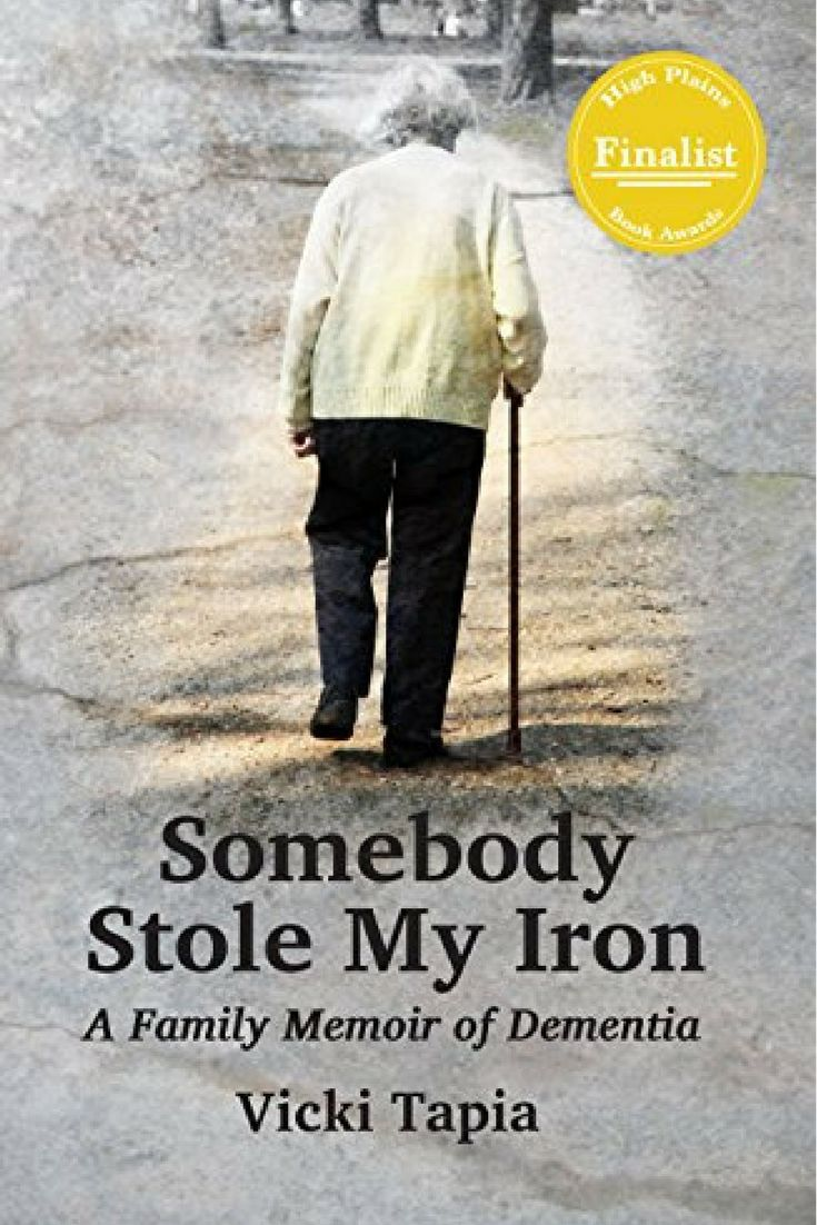A Review Of Who Stole My Iron: A Family Memoir Of Dementia By Vicky Tapia &  You Could Own Your Very Own Copy
