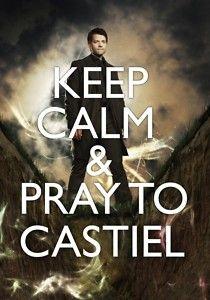 keep calm supernatural supernatural quotes Quotes