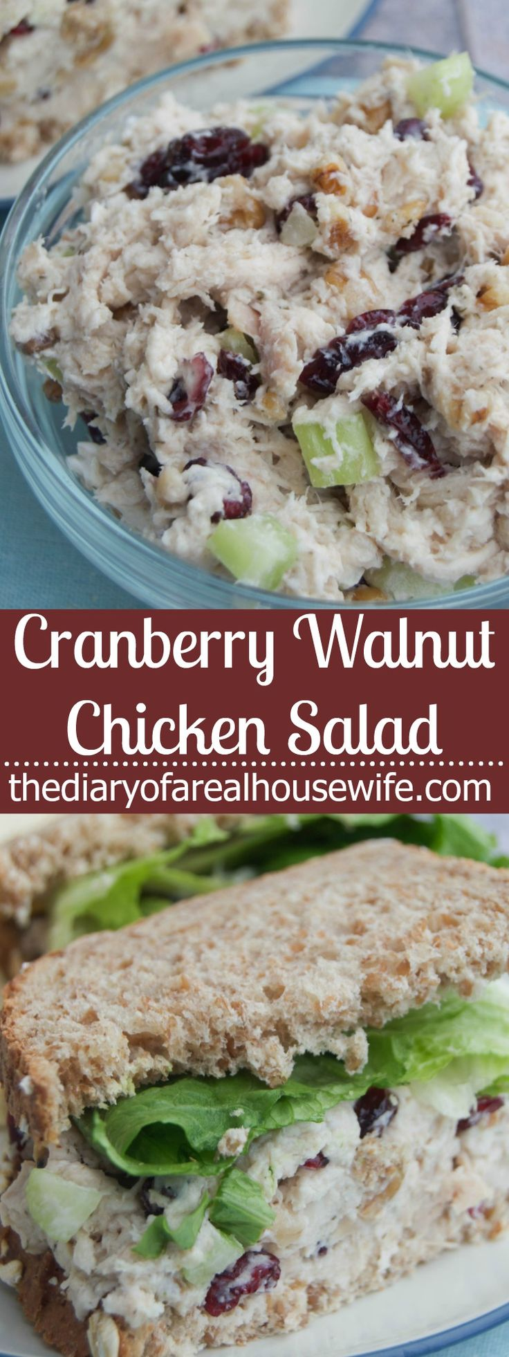 The 25+ best Cranberry walnut chicken salad ideas on ...