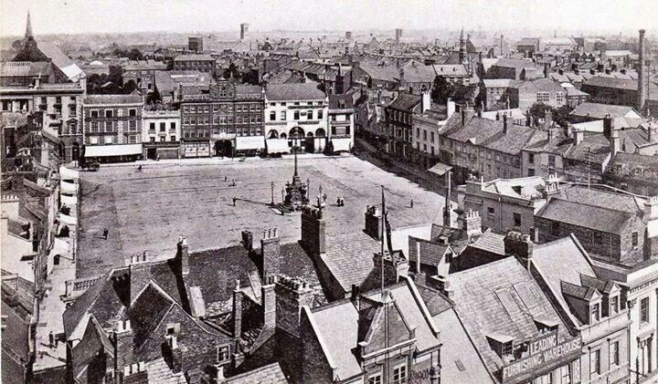 Market Square back in the day