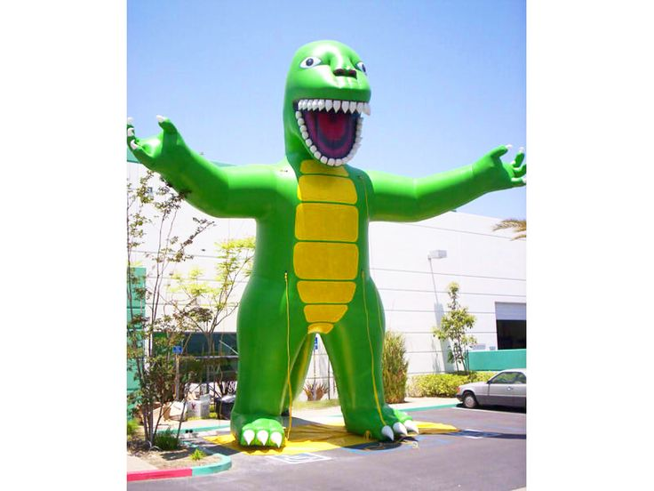 Inflatable Dino Green Replicas