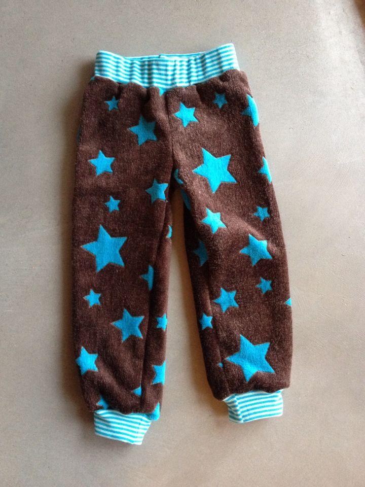Un pantalon étoilé tout doux !