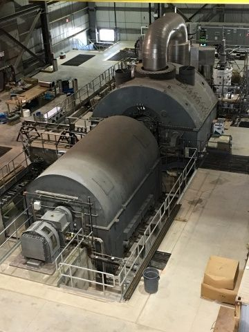 Fuji Electric Supplies Steam Turbine Generator for Green Electron Power Project