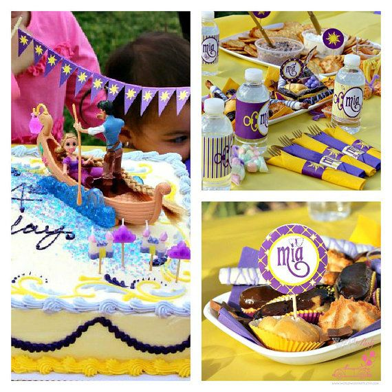 Sun Tangled Rapunzel Party  Festa a tema Sole by worldwideparty, $29.00