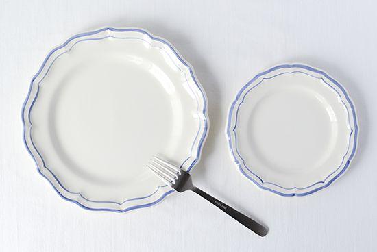 ジアン/フィレブルー/デザートプレート(径23cm) - 北欧雑貨と北欧食器の通販サイト| 北欧、暮らしの道具店