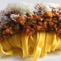 Ταλιατέλες με κιμά, η ιταλική συνταγή