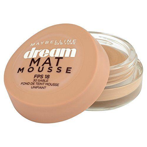 Gemey-Maybelline – Dream Mat Mousse – Fond de teint mousse – 30 sable – 18 ml