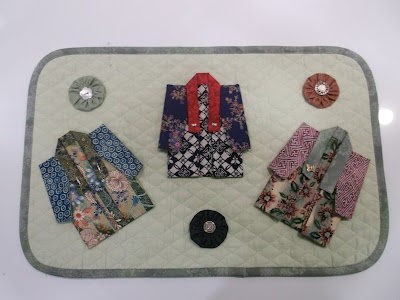 Fabric Origami Kimono Tutorial