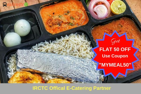 #FoodieFriday: Order Special Non-veg Thali for Lunch & Dinner while traveling in train. Get Flat Rs. 50 Off. Order now at our website www.railrestro.com via Railrestro App or call us at 8102888111.