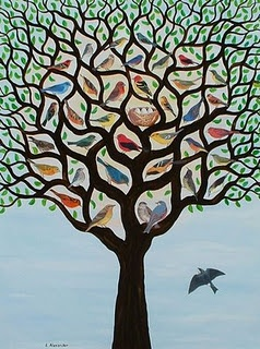 It is the smallest of all seeds, but when it has grown it is larger than all the garden plants and becomes a tree, so that the birds of the air come and make nests in its branches. -Matthew 13:32