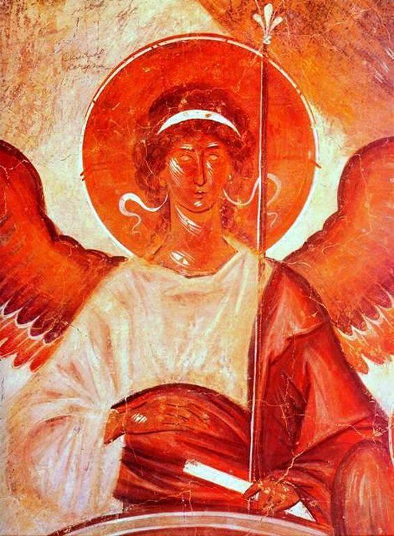 Theophanes the Greek- Θεοφάνης ο Έλληνας-Άγγελος, 1378 (Ι Ν Μεταμορφώσεως Νοβγκορόντ)