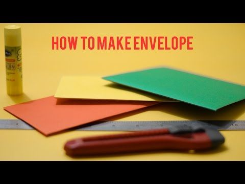 How to make different types of Envelope Paper Envelope Easy