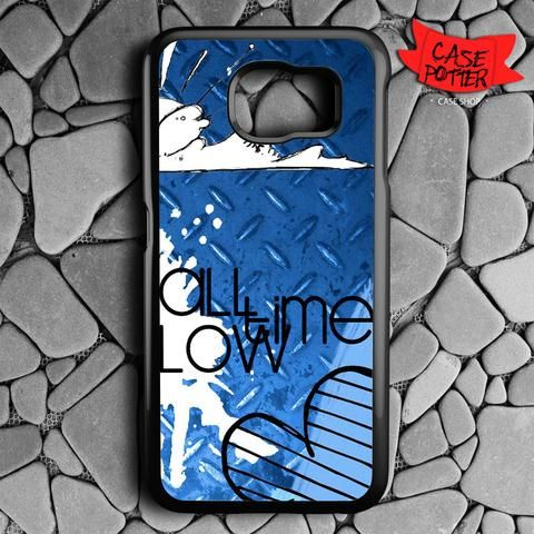 All Time Low Art Samsung Galaxy S7 Black Case