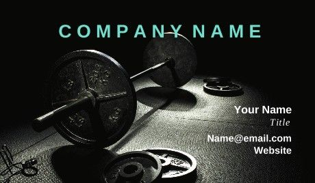 Best 102 sports fitness business card templates images on general personal trainer business cards fitness accmission Image collections