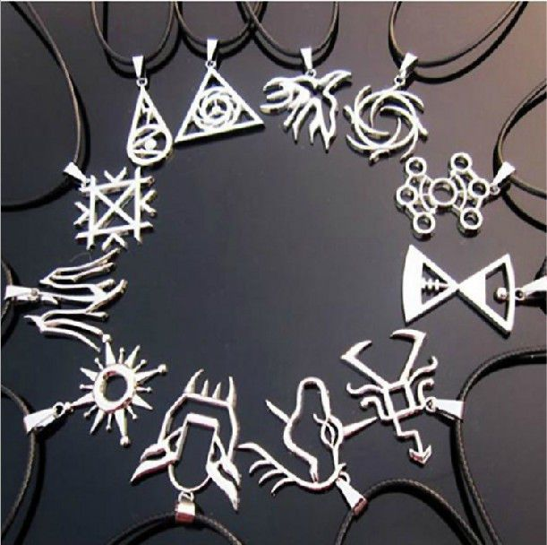 KPOP EXO EXO-M EXO-K Necklace Leather Necklaces Constellation Hand-made Jewerly #Handmade