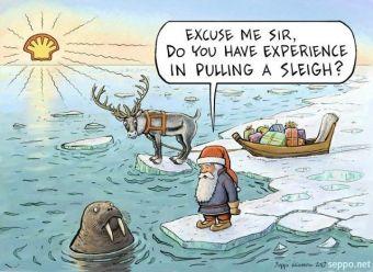 Varmare klimat drabbar jultomten - Supermiljöbloggen
