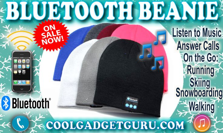ON SALE NOW $15.99 Wireless Bluetooth Beanie for a Limited Time! Stay warm ❄️☃️and hands free! Built-in mic and speakers, receive calls, play your favorite music while #hiking #camping #running #jogging #walking #skiing #boardingNO wires!  AweSome Sounding Speakers! Get yours HERE > https://coolgadgetguru.com TAG & SHARE with your music loving friends! Check it out HERE > https://coolgadgetguru.com