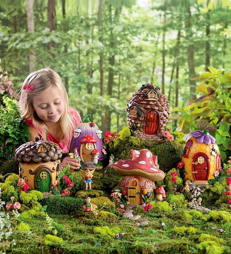 how to create a fairy garden outdoors in existing
