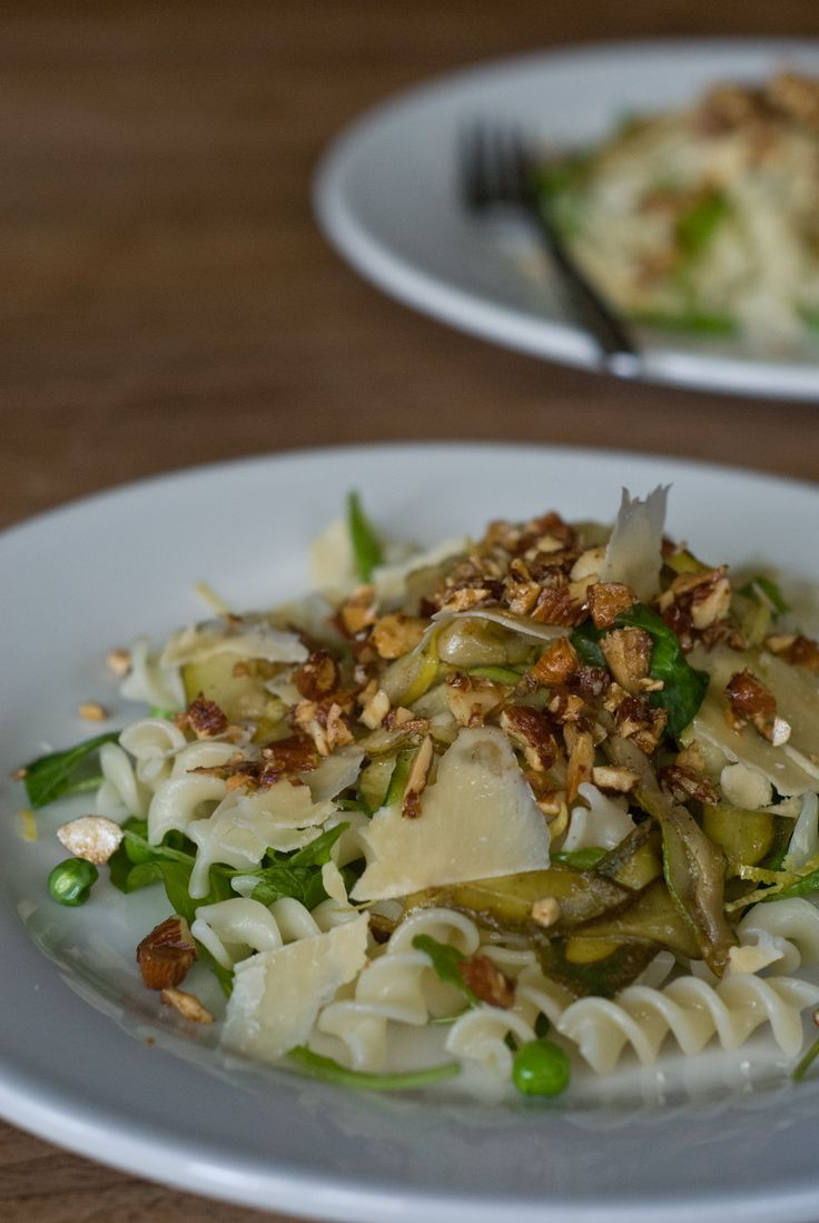 Pasta with Lemon, Zucchini & Brown Butter - Rusty Skillet Blog