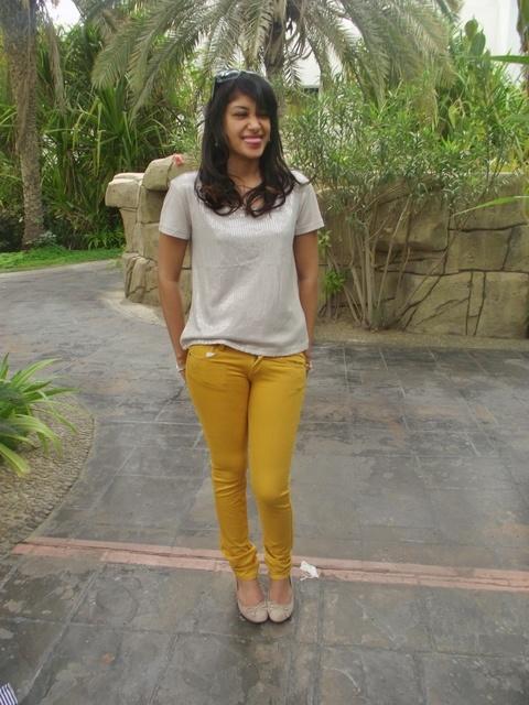 Sequins & Yellow Jeans