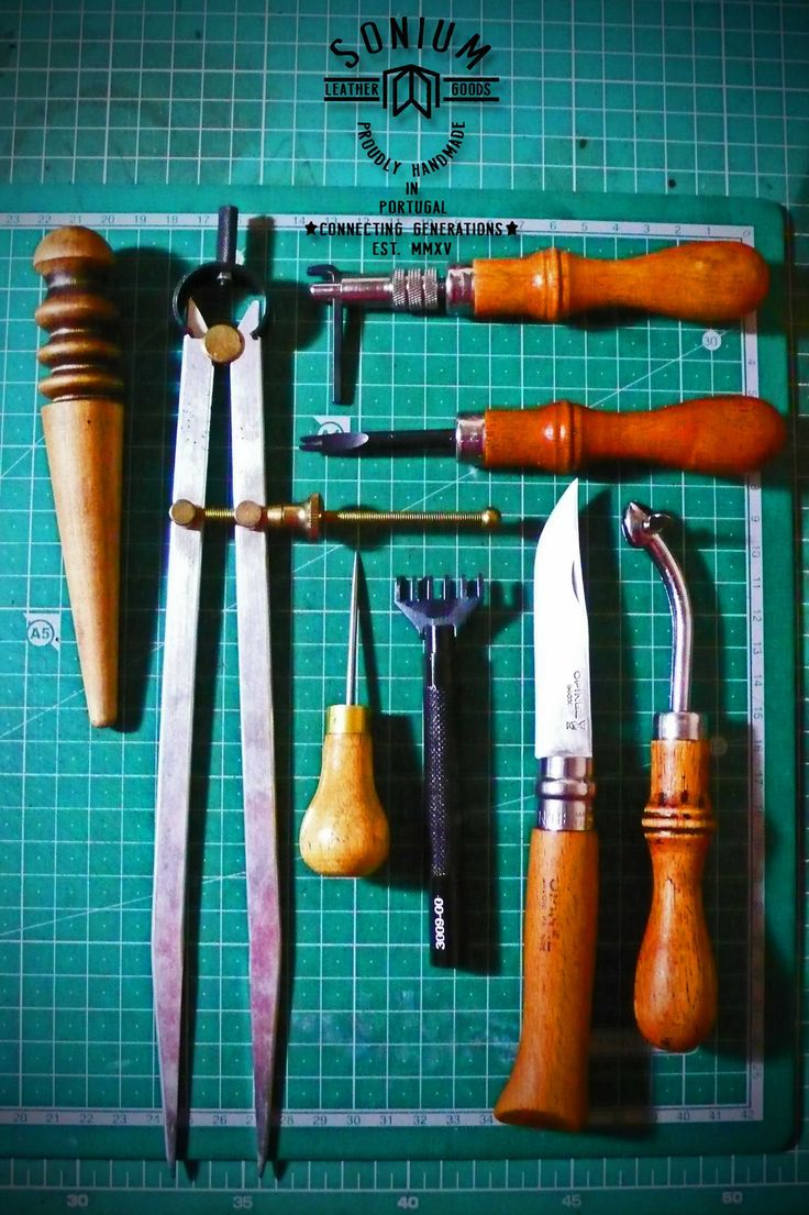 Are on the way the new leather tools to replace these. Will be Vergez Blanchard (top leather tools made in France and not in China).  I am sorry that there's no longer tools made in Portugal.  SONIUM LEATHER Proudly handmade in Portugal Connecting Generations