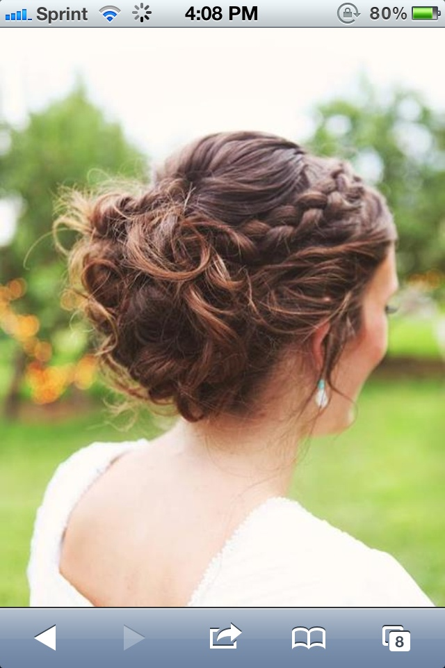 Brides hair by me ☺