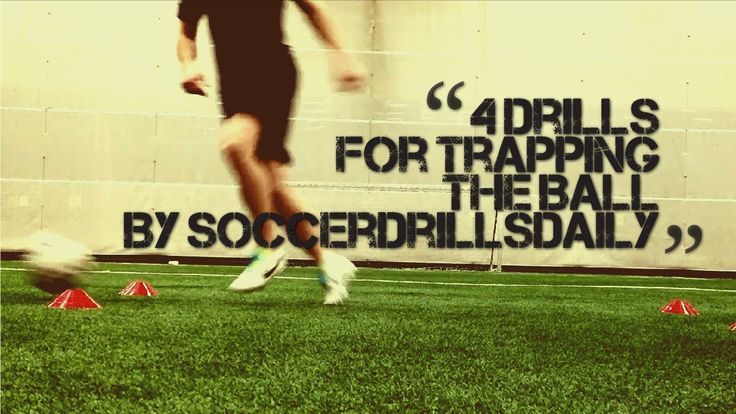 Soccer Drills for Trapping the Ball - 4 Drills to Help Develop Your Ball...