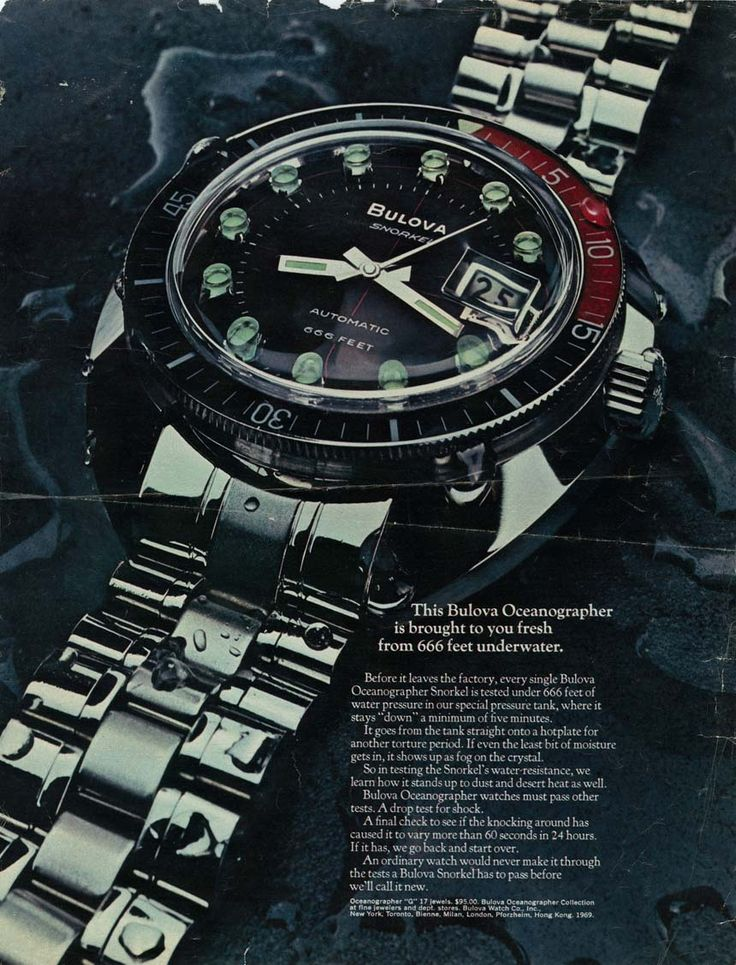 "Cool Vintage Bulova Watch Advertisments, Plus Brand President Interview - by Ariel Adams - on aBlogtoWatch.com ""A three-part interview series I did with Mr. Greg Thumm, the President of Bulova watches. Greg is the type of brand leader you want to listen to. Not only is he an actual watchmaker, but he has been responsible for one of the best watch company re-branding efforts that we have seen in a while..."""