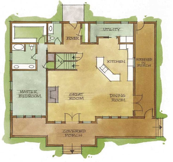 Small Cabin Plans Free View Source More Cabin Homes