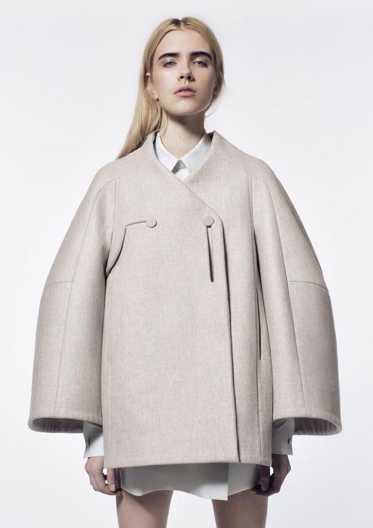 beautiful + minimal | cool coat | @commoncurator