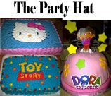The Party Hat - Durban provides Invites, Cakes, Cupcakes, Fun Party Treats, Piñata's, Goodie Boxes - all uniquely designed according to any theme - AND AT VERY AFFORDABLE PRICES! With The Party Hat! in your corner, the possibilities are endless!
