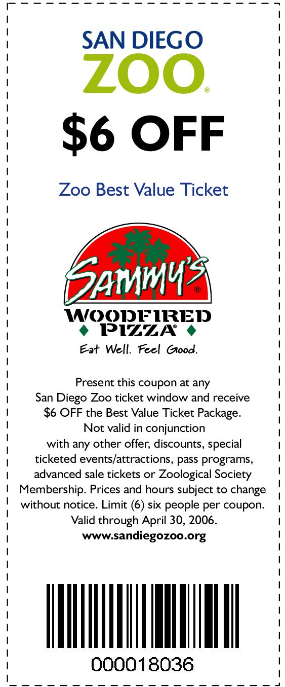 San diego zoo tickets discount coupon