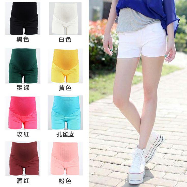 2014 новых летняя материнства брюки для беременных Брюки летом конфеты цветные шорты беременных беременные случайные шорты - Taobao