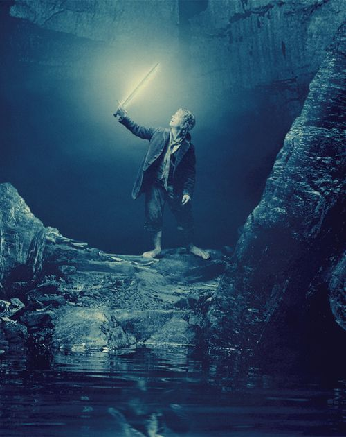 Bilbo and Sting. OMG I CAN'T WAIT!