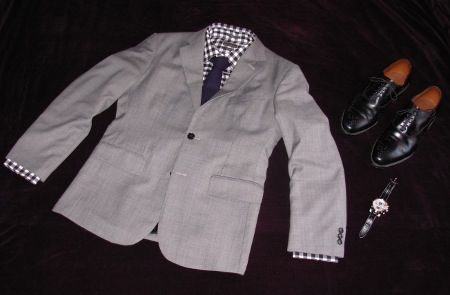 Check and Grey Suit