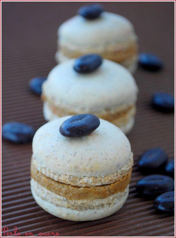 Macaron café / noisette