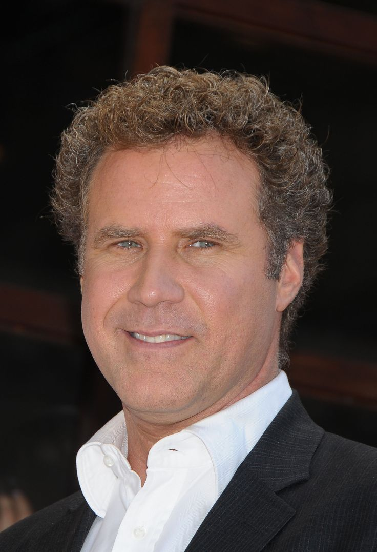 Will Ferrell - Who WOULDN'T want to spend the day with him???  He's a funny, funny man!