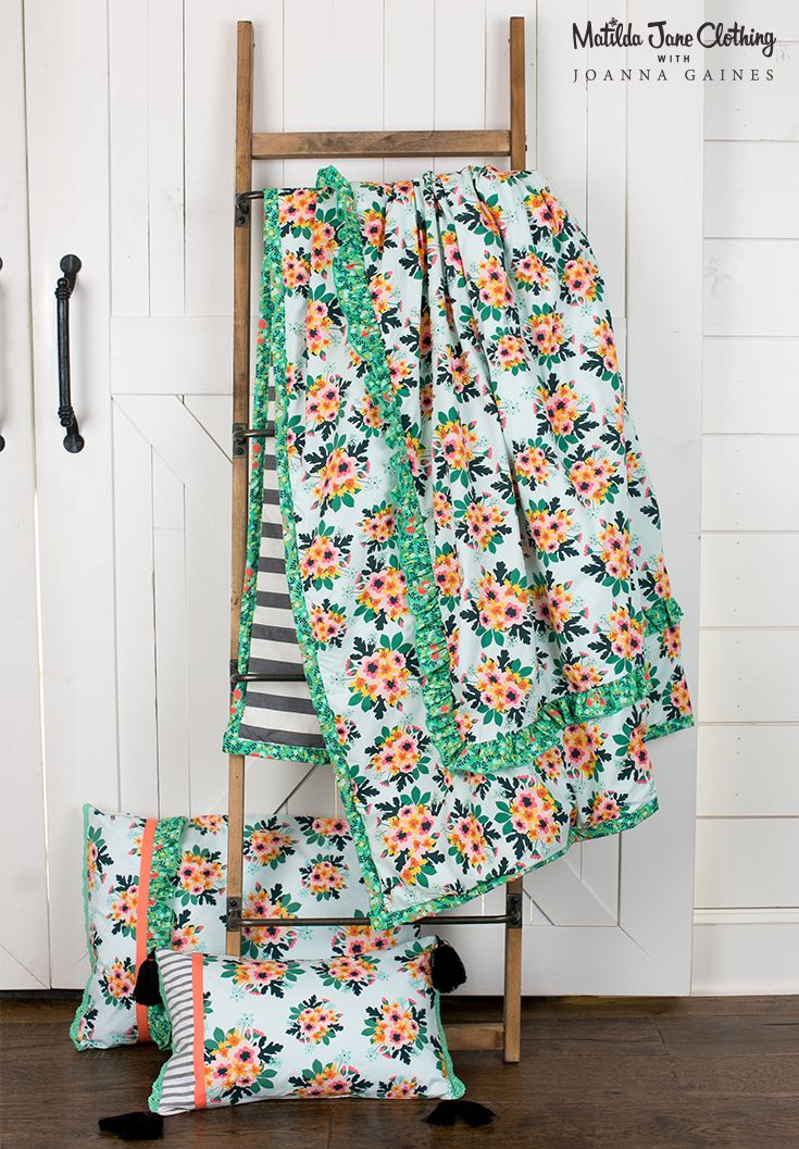 Best 25 girls flower bedroom ideas on pinterest flower - Joanna gaines bedding collection ...