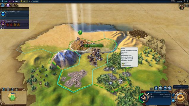 Just released a mod to change the color's of the Australian Civilization to be more similar to what it was in the Trailer. #CivilizationBeyondEarth #gaming #Civilization #games #world #steam #SidMeier #RTS