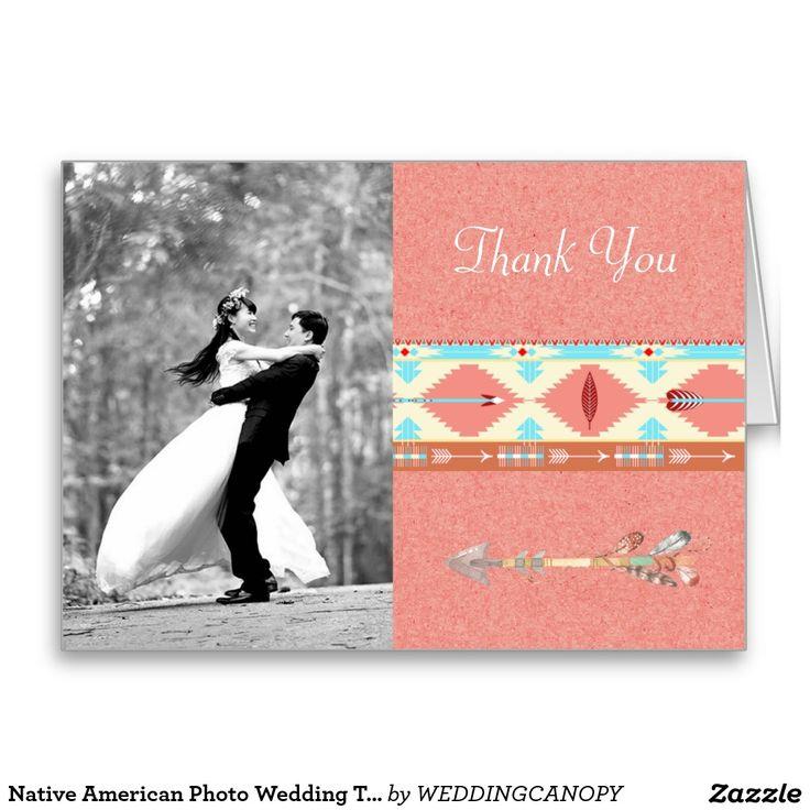 Native American Photo Wedding Thank You 18