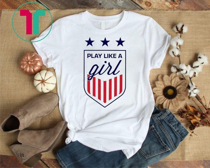 USWNT Shirt – Play Like a Girl T-Shirt