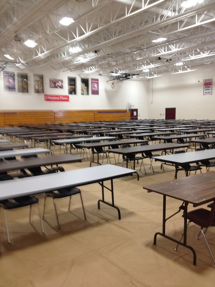 Redeemer University College-Rental of Tables and Chairs