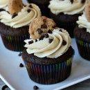 cookie dough, cookie dough: Cookie Dough Cupcakes, Cookies Dough Cupcakes, Fun Recipe, Chocolate Chips, Chocolates Chips Cookies, Chocolates Chips Cupcakes, Chocolates Cupcakes, Chocolate Chip Cookie, Cupcakes Rosa-Choqu