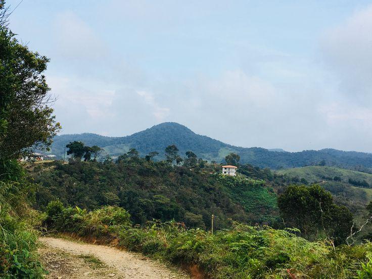 Al fondo de la imagen Reserva Natural El Morro ( El Santuario,Antioquia)